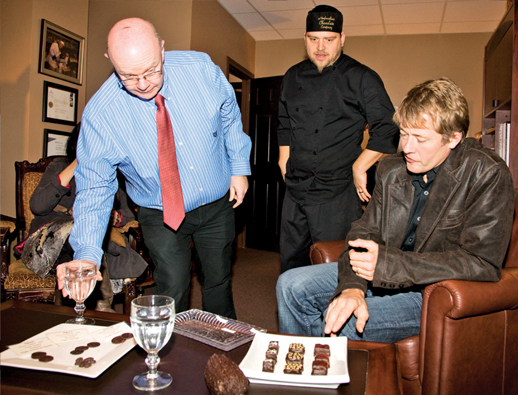 Chocolate tasting, a ceremony in itself!