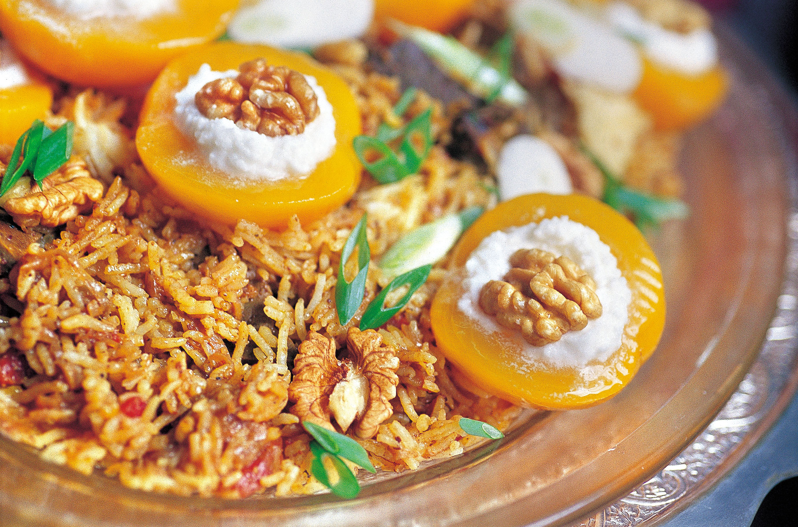 A Pulao Of Liver And Peaches In Cream