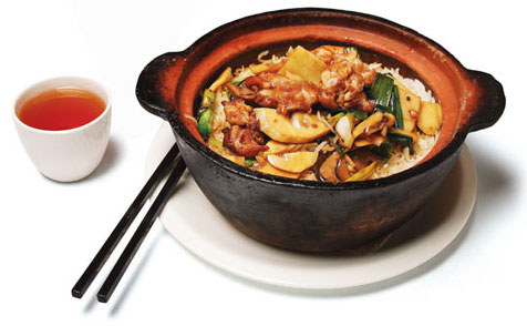 ... are always tied up clay pot chicken with mushroom claypot chicken rice
