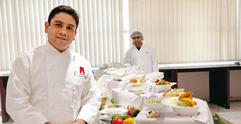Delightful ... Chef Ravi Nagi, Regional Catering Manager U2013 West Asia U0026 Indian Ocean Regarding Catering Manager