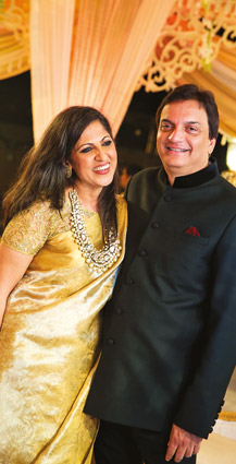 Now with both sons married, Nilu & Joy can be relaxed parents