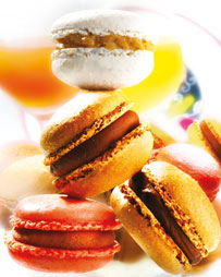 Macarons at L´Opera in Epicuria are a rage