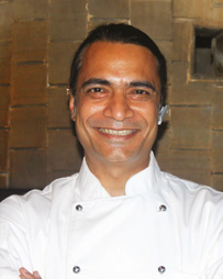 Chef Kunal Kapur  Executive Sous Chef The Leela Ambience Gurgaon Hotel & Residences